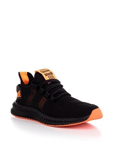 Tonny Black Siyah Turuncu Unısex Spor Ayakkabı Tbıdl Siyah